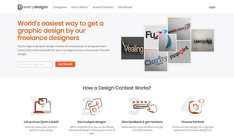 EveryDesigns Homepage
