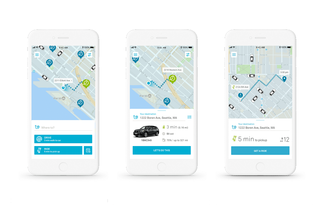 Distinguishing features of BlaBlaCar app