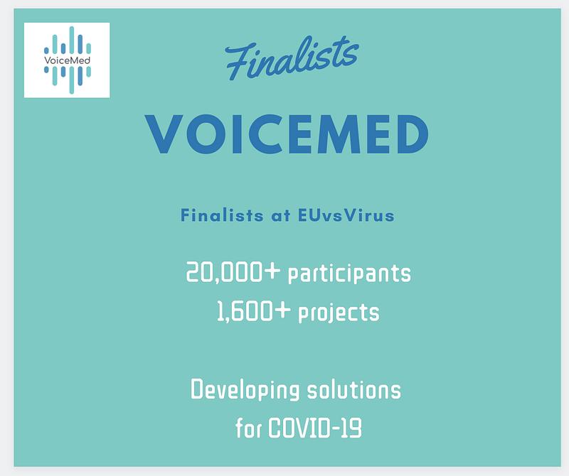 Voicemed EUvsVirus Finalist