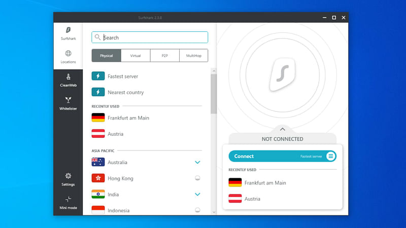 10 Best Free Vpn For Windows 10 8 And 7 Pc In 2020