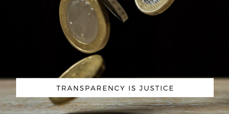 Keep Transparency in Pricing Details