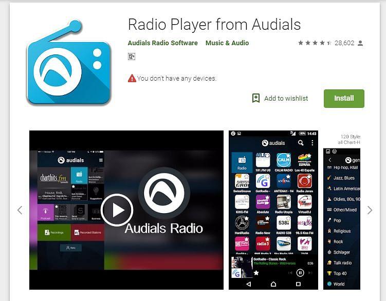 Android App Radio