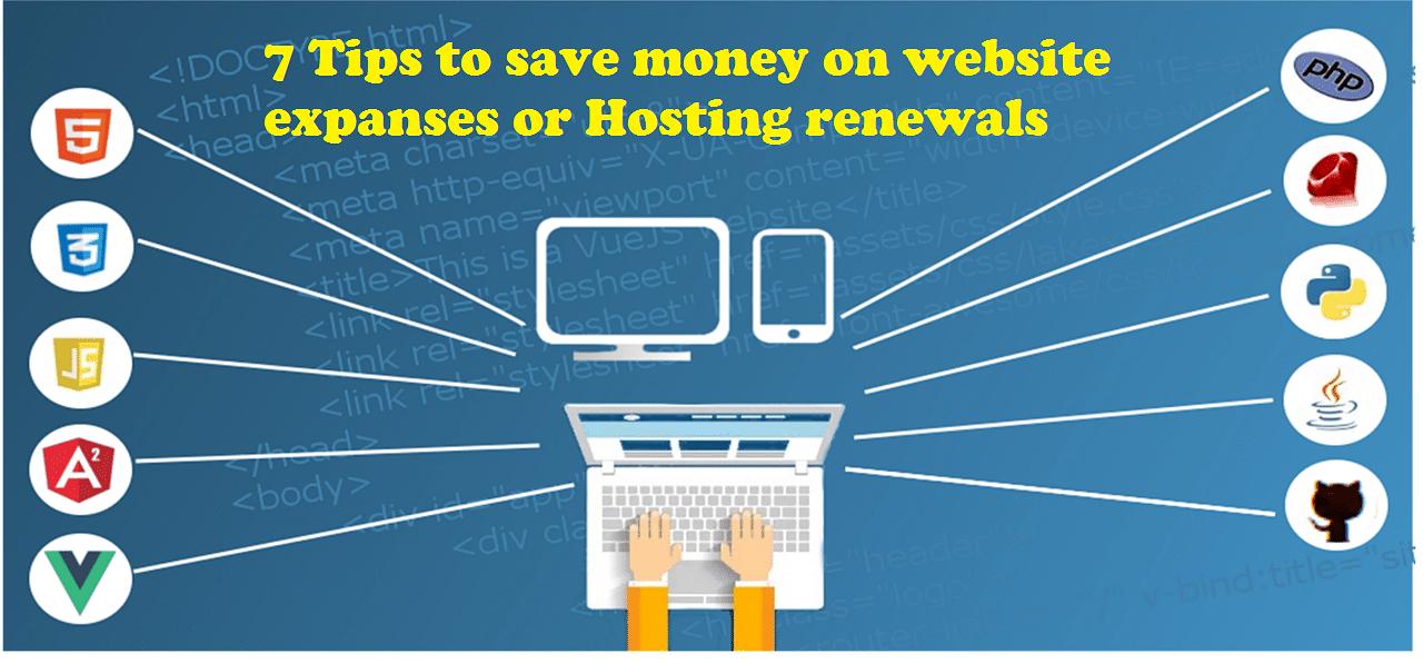 save on hosting renewals