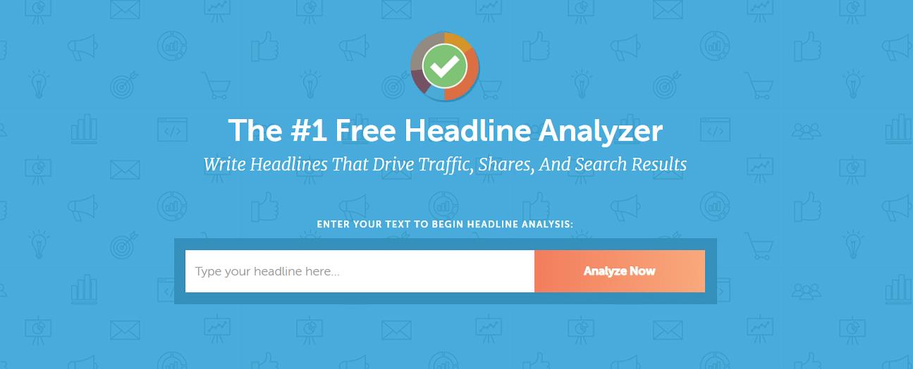 Coshedule Headline Analyzer
