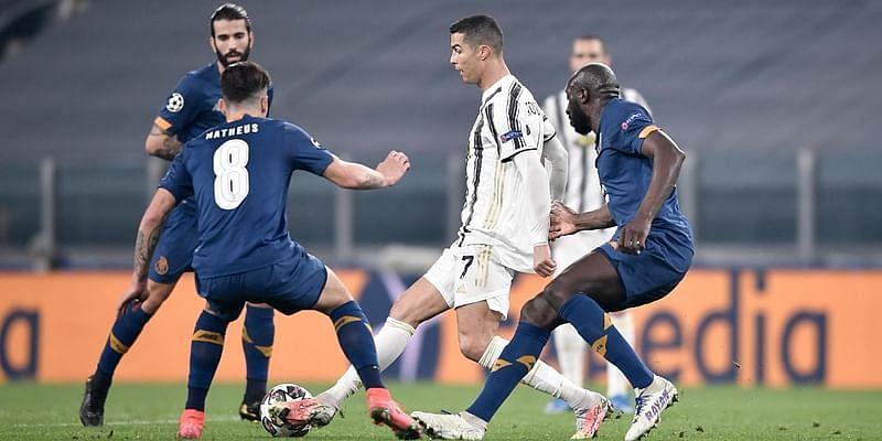 Ronaldo in action