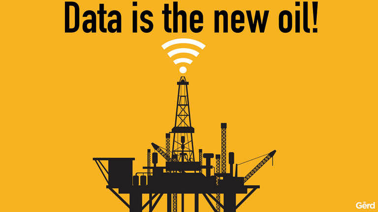 Image result for Data is the new oil