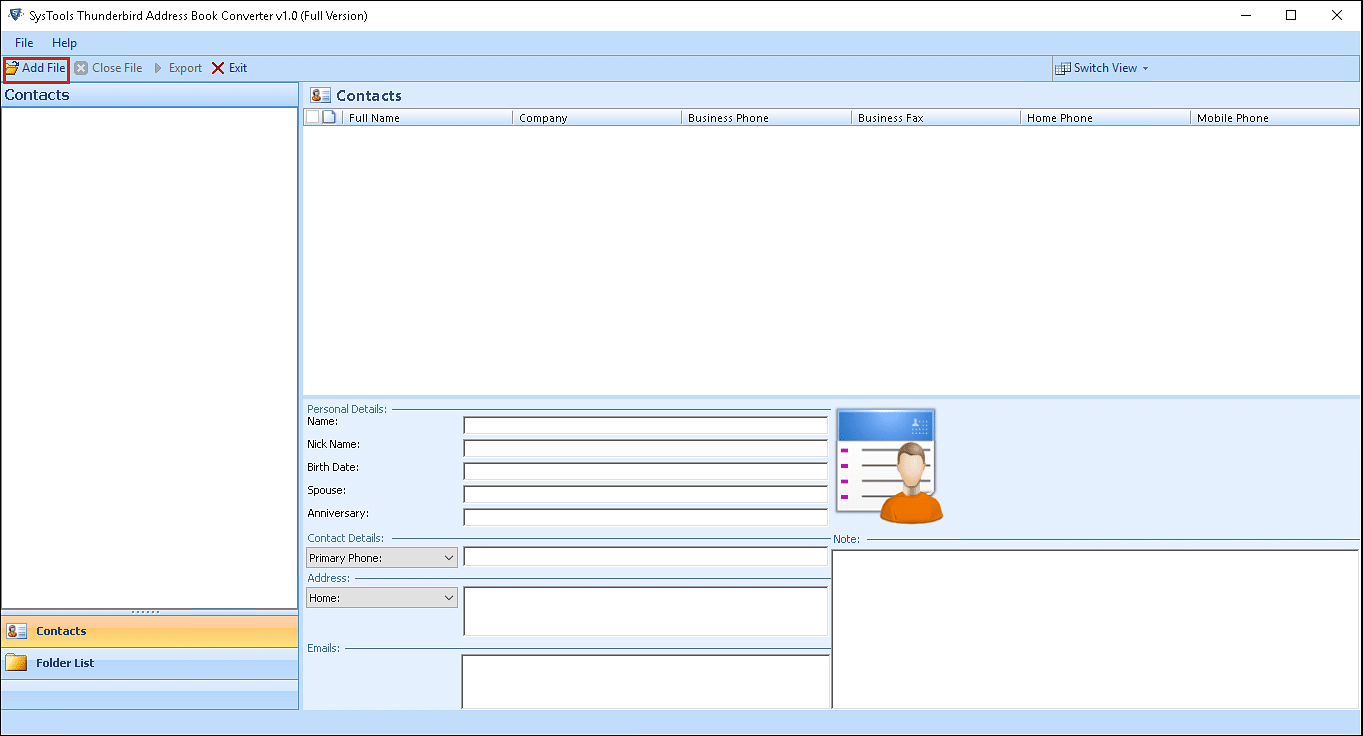 How to Perform Thunderbird Address Book to Outlook Conversion