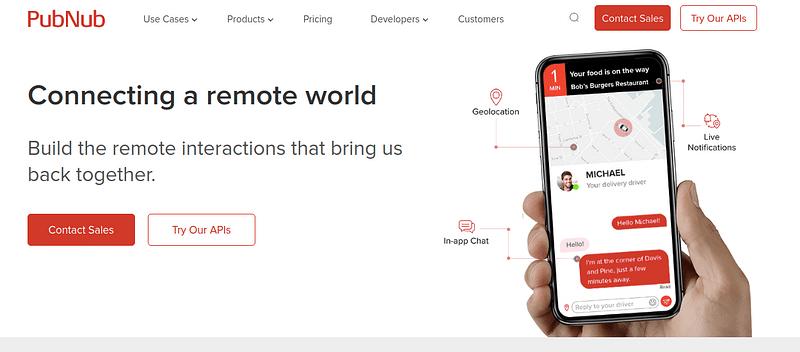 Pubnub - Video Chat API for Enterprise Business