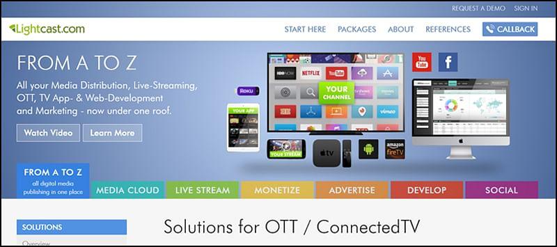 Lightcast OTT Development