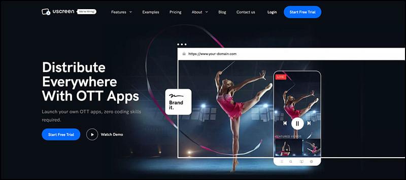 Uscreen OTT Platform