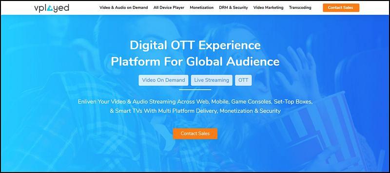 Vplayed OTT Platform