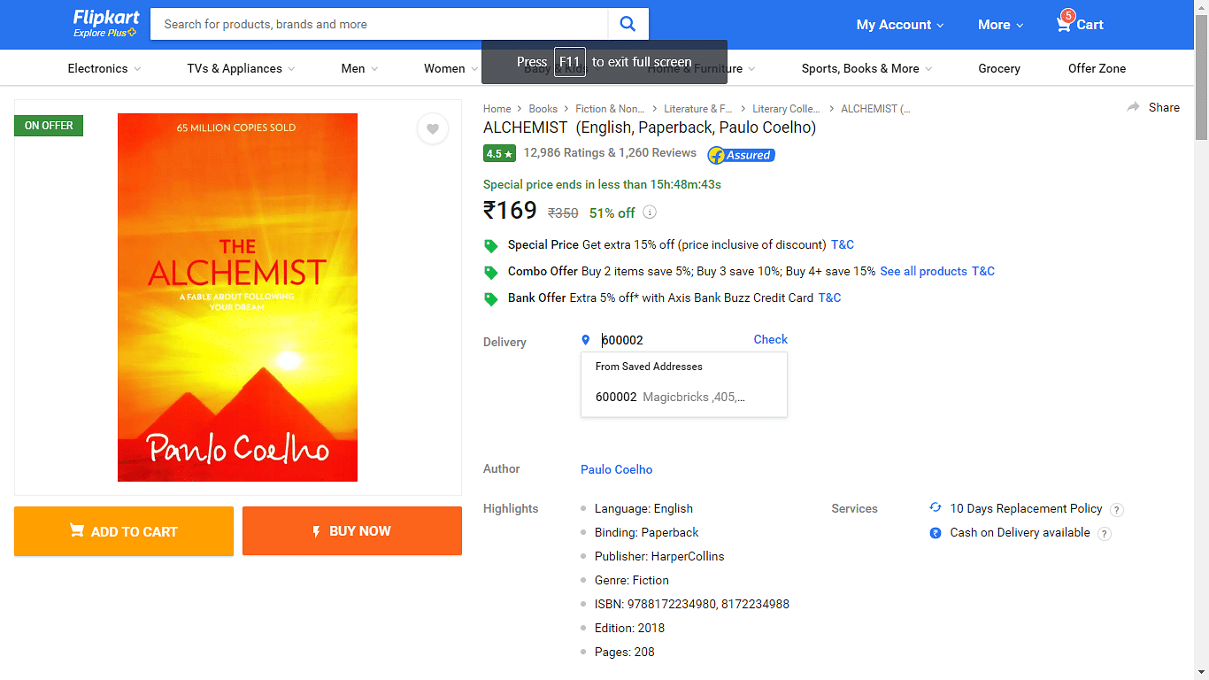 A simple trick to make pocket money from Amazon using Flipkart for