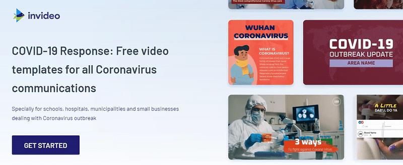InVideo Covid-19 Response