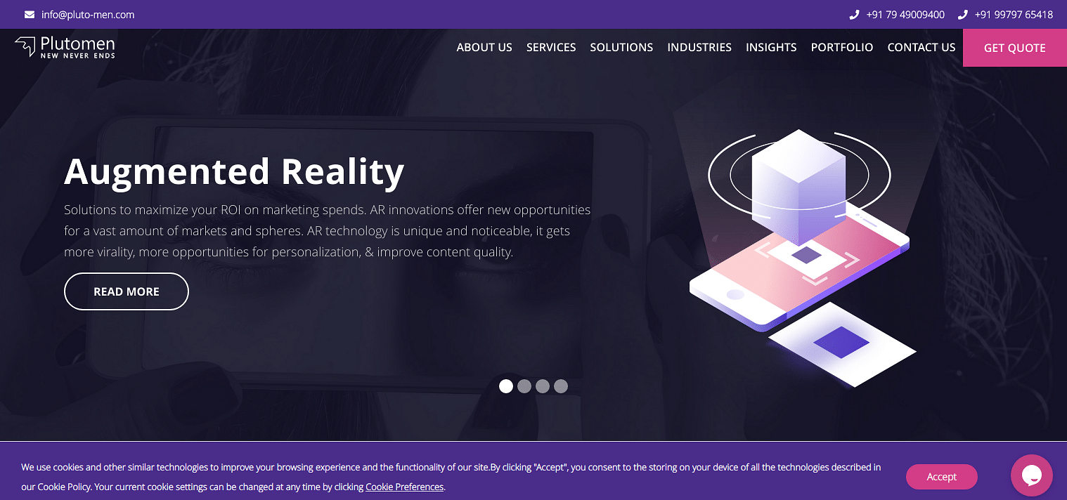The well know team to serve AR / VR development solutions