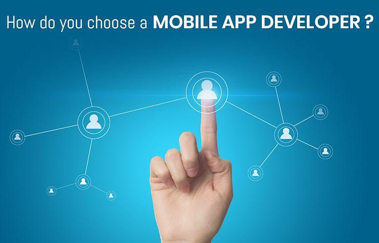 Choose app developers