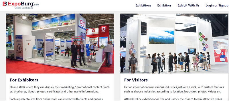 Expoburg Online Exhibitions