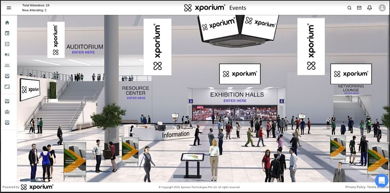 Xporium Virtual Exhibitions Platform