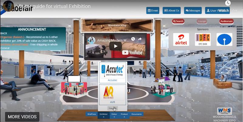 Utradefair Exhibition Demo