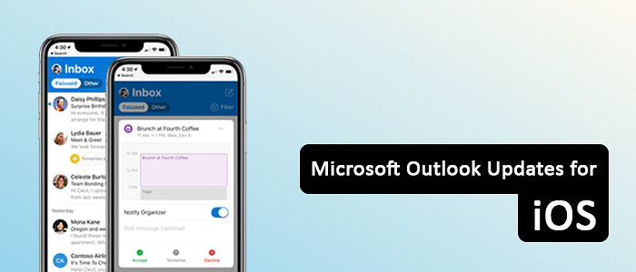 Microsoft Updates Outlook for iOS with Major Designing Changes