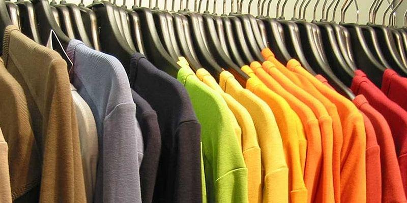 Shirts of vivid hues