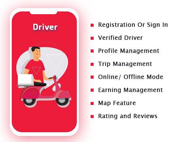 GoferEats - Driver Features