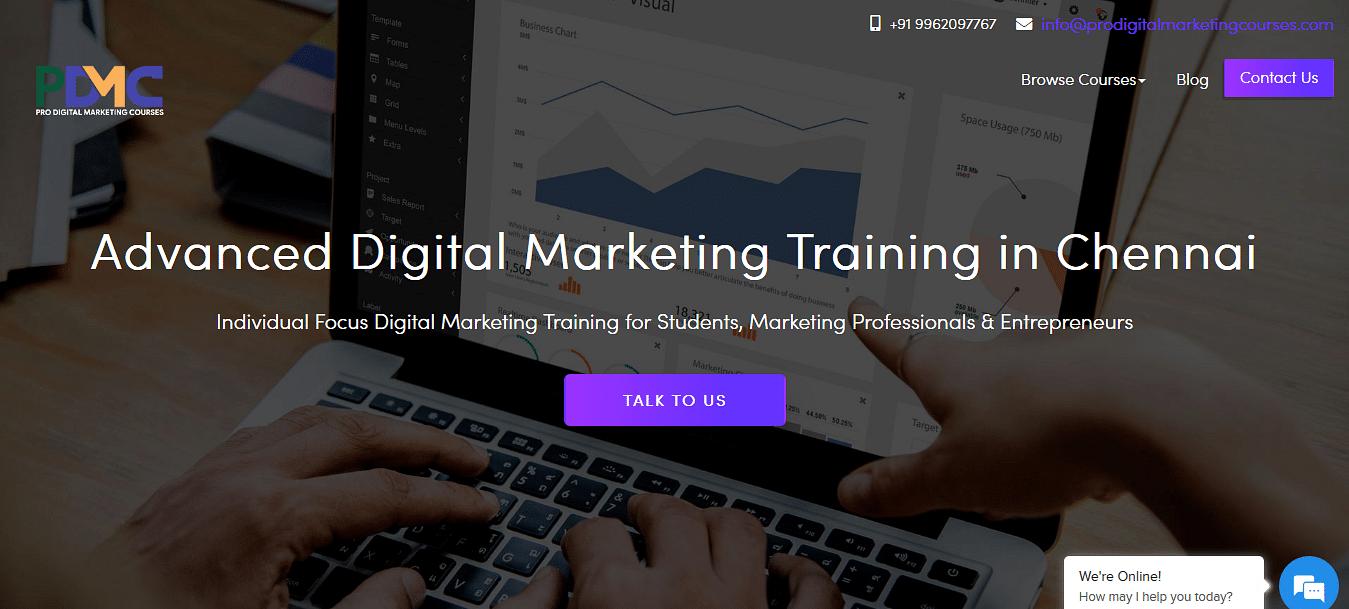 Pro digital marketing course