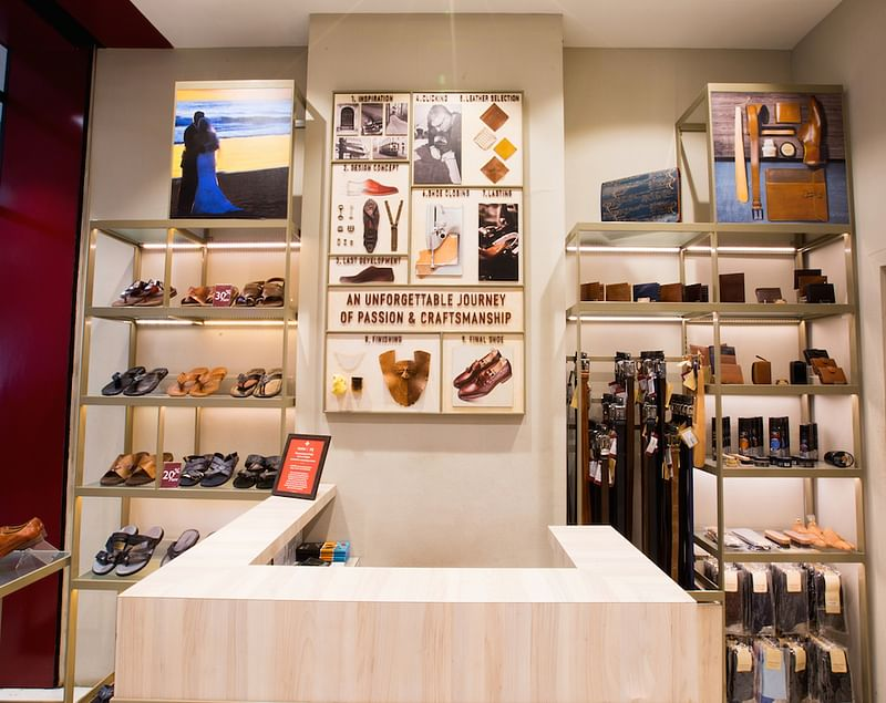 Clean & minimalistic yet deeply rooted in the brand's heritage and craftsmanship, Ruosh's store design instantly strikes a chord with the connoisseurs of handcrafted products