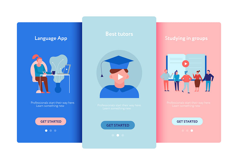 The features for the student app