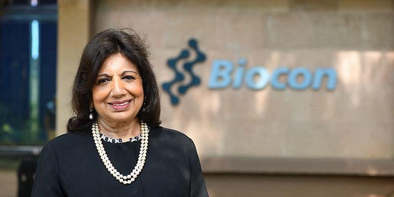 kiran mazumdar, founder, biocon limited