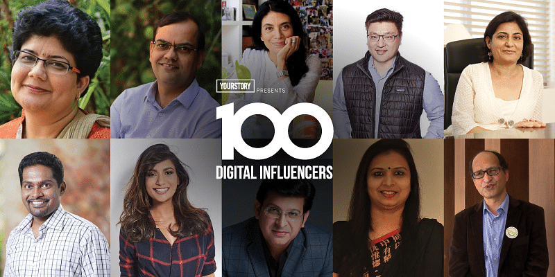 100 digital influencers 1-10