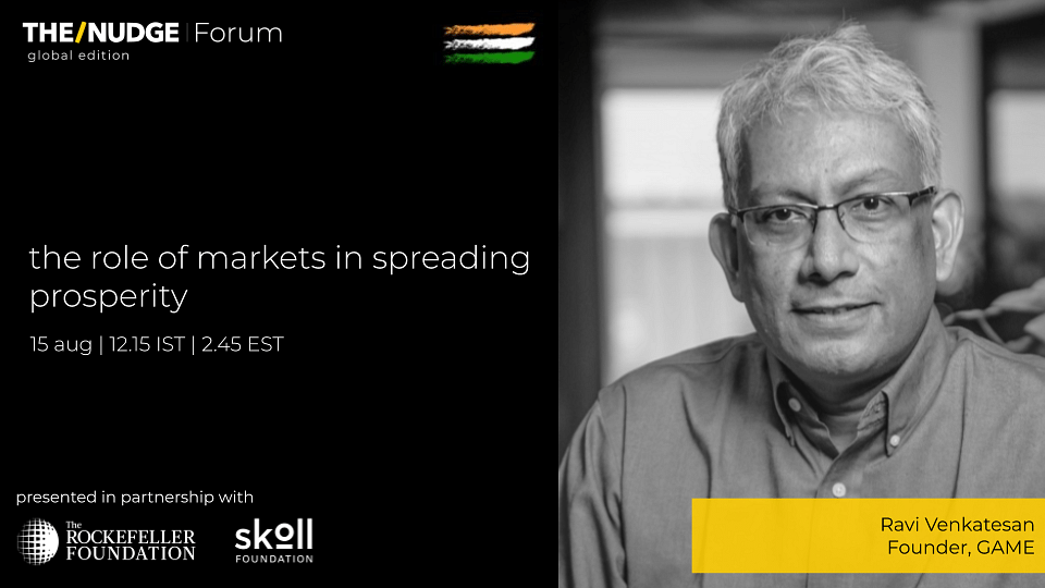 GAME's Ravi Venkatesan decodes the power of mass entrepreneurship to drive India's growth