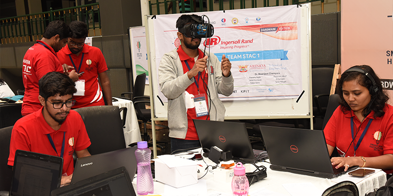 Undergraduate students win Smart India Hackathon 2019 for
