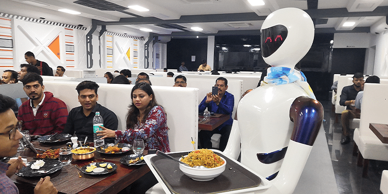 Meet these robot waiters giving a futuristic spin to dining