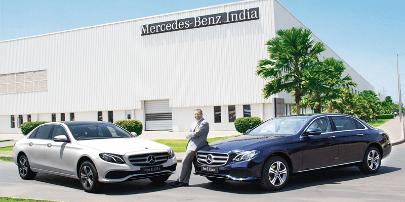 Mercedes-Benz India MD and CEO Martin Schwenk