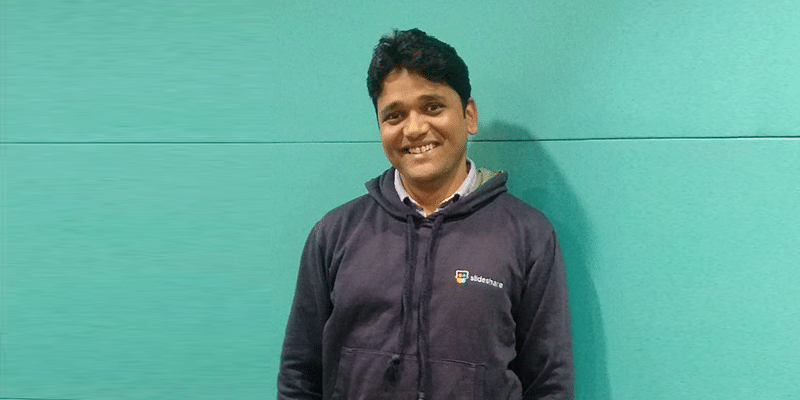 Former SlideShare employee Ashok Kumar