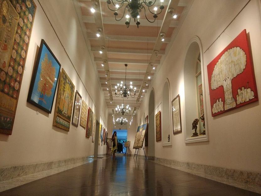 Art for Concern exhibition