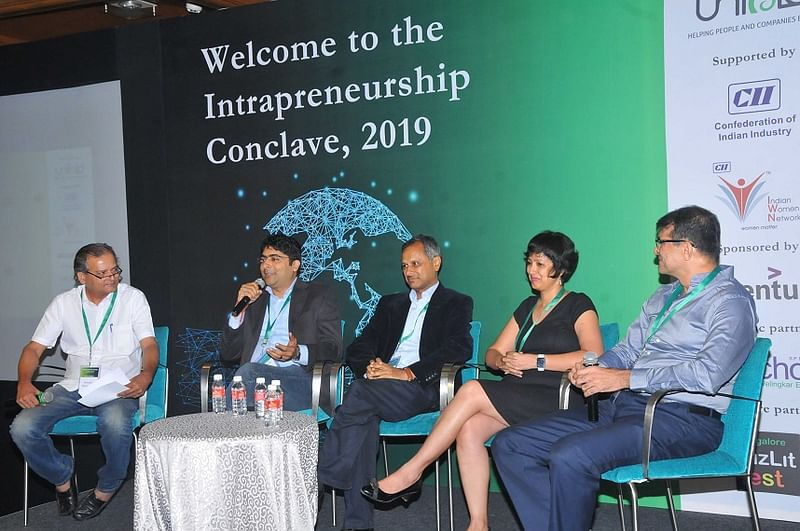 Panel moderated by Benedict Paramanand