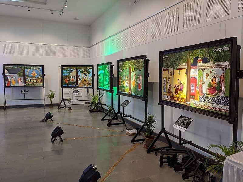 Art in times of change and turbulence: HN Suresh and the Svara Raga Chitra  exhibition