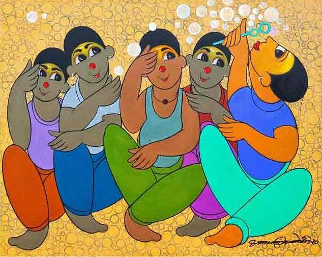 Artis: Dnyaneshwar P Bembade