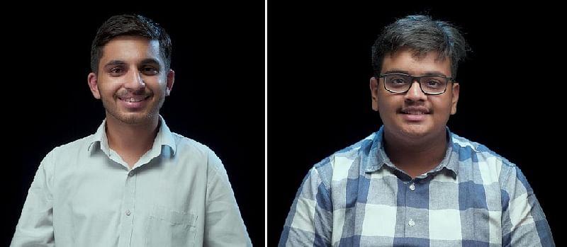 Akash Singh (L), Naisargik Lenka (R)