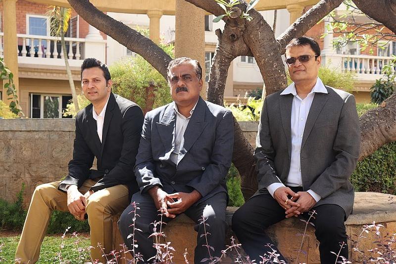 AyuRythm Team Sandeep, Ram, Abhilesh (L-R)