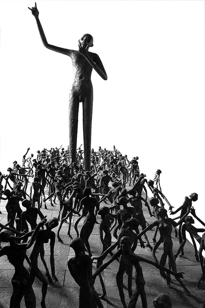 The Ramp (Standing Musui) - 2004 by K. S. Radhakrishnan