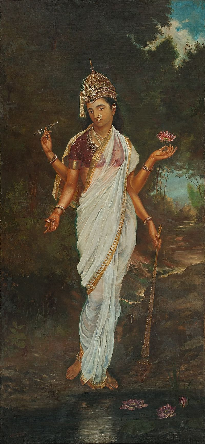 Untitled (Lakshmi) by M. V. Dhurandhar