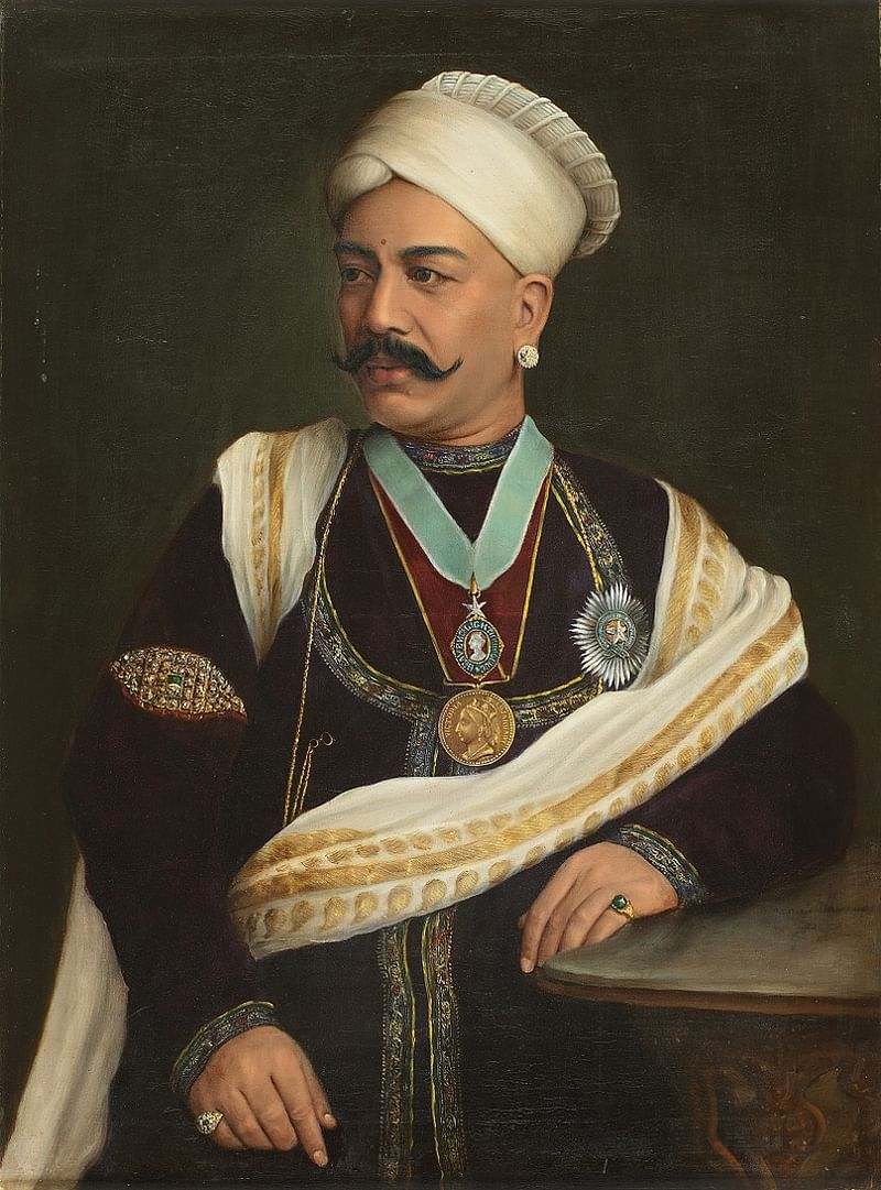 Untitled (Portrait of Sir Tanjore Madhava Rao) by Anonymous