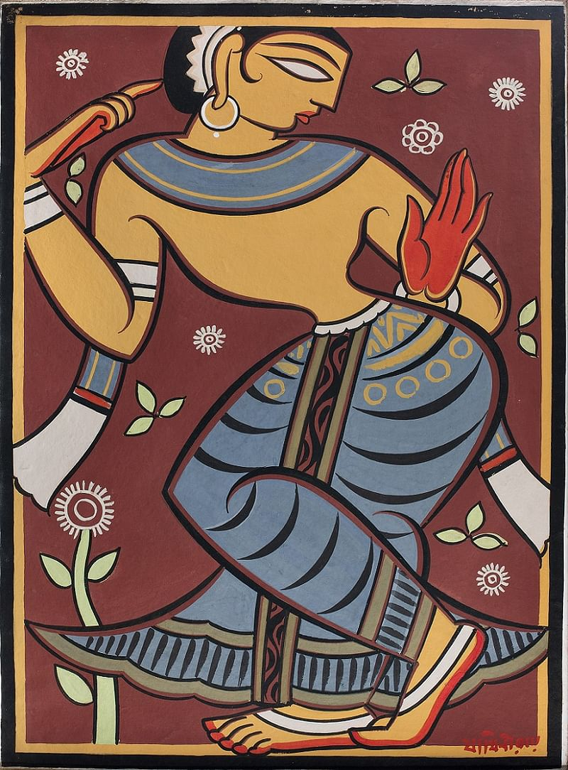 Untitled by Jamini Roy