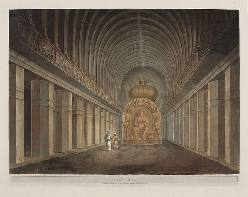 Viswakarma - 1803 by Thomas and William Daniell