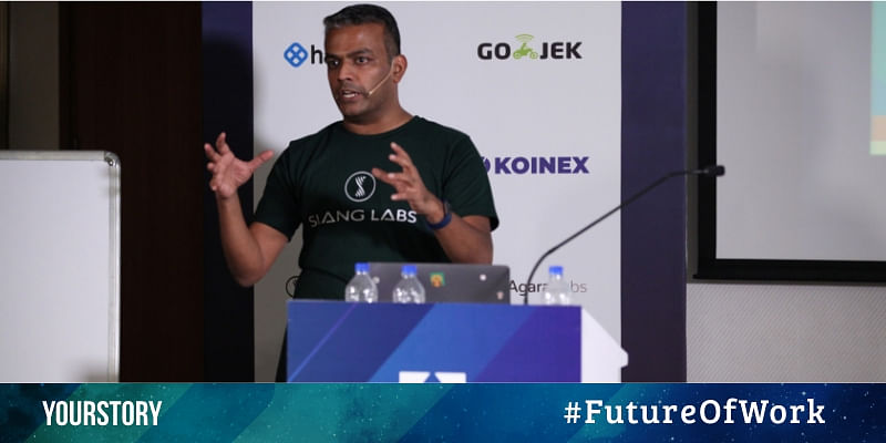 Building voice augmented experiences in apps: Kumar Rangarajan of Slang Labs at Future of Work 2019