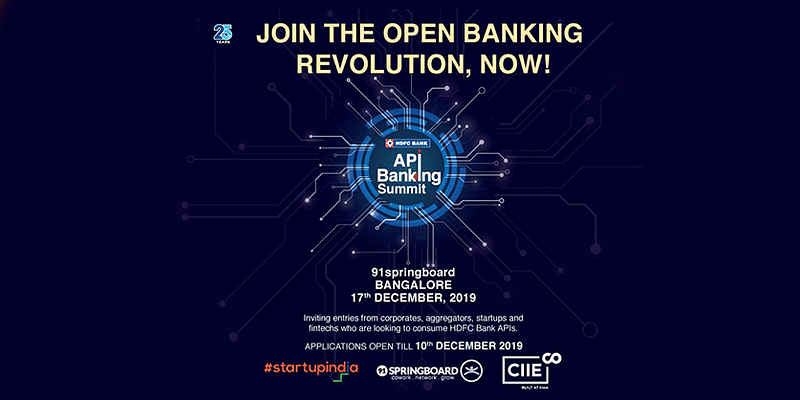 Get a ringside view of India's largest API banking ecosystem at the HDFC Bank API Banking Summit