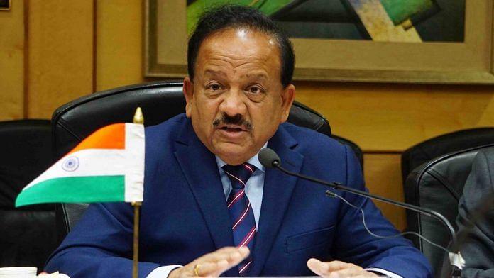 Harsh Vardhan, Health Minister of India