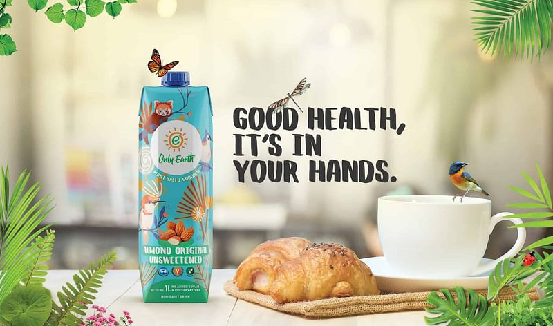 Singapore-based brand of plant-based beverages Only Earth aims to diversify product range to capture Indian market
